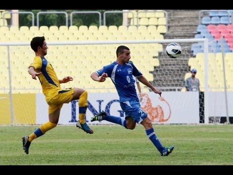 Match 3: Alquds Hilal Club (PLE) 3-2 Dordoi (KGZ): AFC President's Cup 2013.