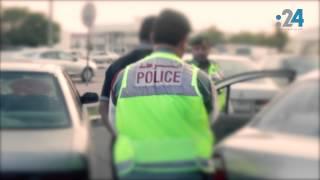 هاب ريح (5): شرطة دبي توقف سيارة محملّة بالكحول