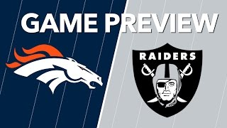 Broncos vs Raiders Predictions