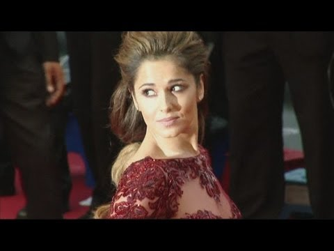 Cheryl Cole At Cannes Film Festival 2013: Chezza Stuns In Maroon Dress At Cannes video
