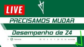 NOSSO DESEMPENHO DE Z4 QUE NÃO DEVE INTERFERIR NA LIBERTADORES