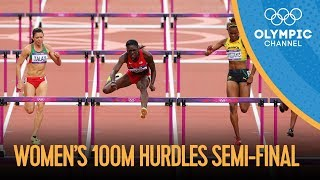 100m Hurdles - Women's Semi-Finals Full Replay - London 2012 Olympics