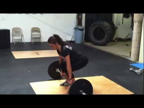 How to Hang Clean, Hang Power Clean, High Pull Image 1