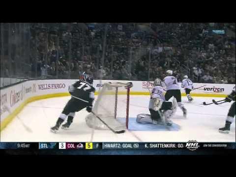 Jeff Carter OT goal 4-3. Full OT. April 21 2013 Dallas Stars vs LA Kings NHL Hockey