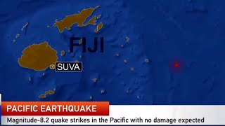 Huge M8.2 quake strikes in the Pacific