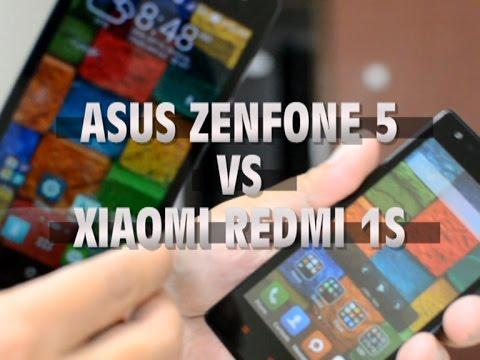 Asus Zenfone 5 Vs Xiaomi Redmi 1S (HD) (Indonesia) Review Comparison
