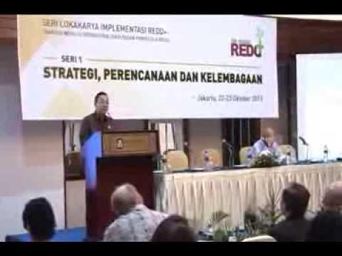 Arahan Menhut Pada Lokakarya  REDD++