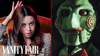 Aubrey Plaza Reviews Creepy Dolls from Movies | Vanity Fair