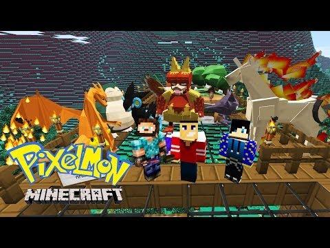Minecraft: Pixelmon Challenge | Epic Minecraft PIXELMON Challenge