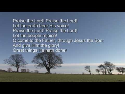 To God be the glory Music Videos