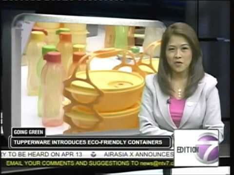 Tupperware's TaPau Set on NTV 7: News at 8pm
