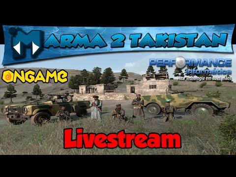 ARMA 2: TAKISTAN #2 LIVESTREAM - HUERAGEM AO VIVO / 720p PT-BR