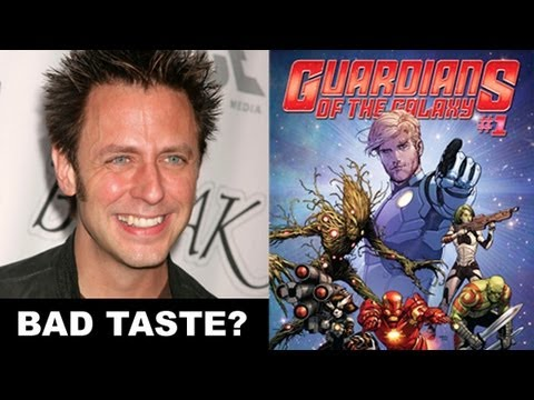 Guardians of the Galaxy 2014 - James Gunn Controversy : Beyond The Trailer