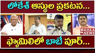 Chandrababu is the Poorest Member of The family |  Lokesh Declares Family Assets | IVR Analysis #2