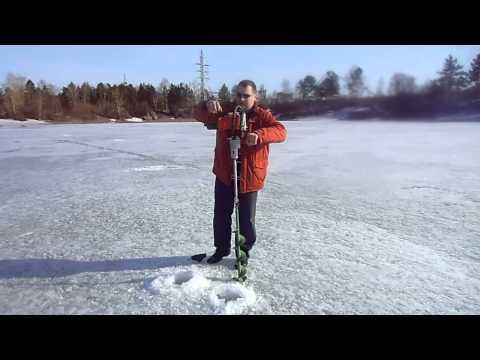 Мотобур для рыбалки своими руками видео