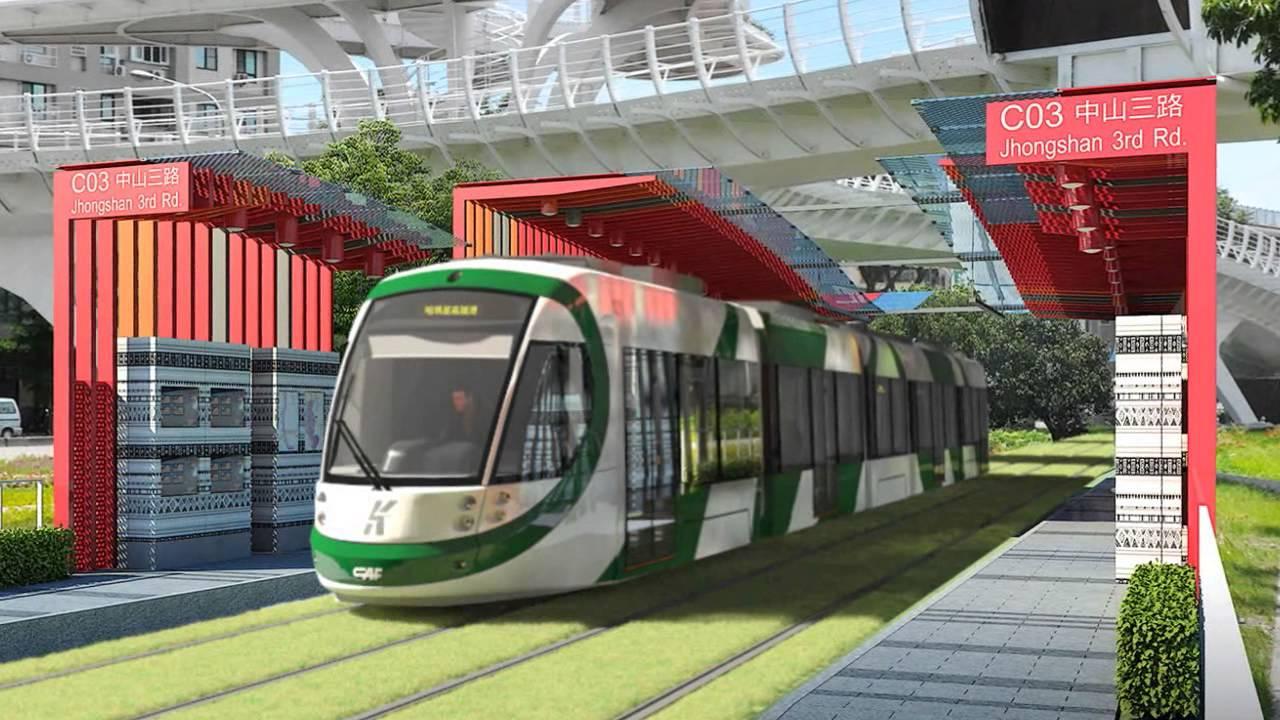 高雄輕軌3D動畫 Kaohsiung light rail project animated films