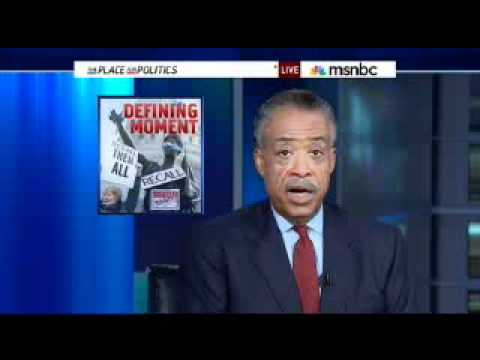Al Sharpton's Hilarious Teleprompter Flub On MSNBC Show