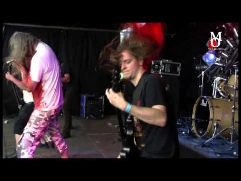 DEFLORATION - The Fade Of Poor live @ Chronical Moshers Open Air 2012