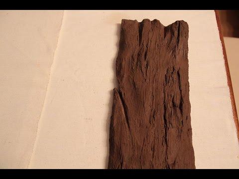 DIY Jak Zrobic Deskę Ze Styropianu ( Faux Wood) Imitacja Drewna