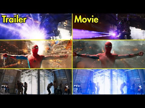 Spider-Man: Homecoming - Trailer vs Movie Comparison [4K UHD] thumbnail