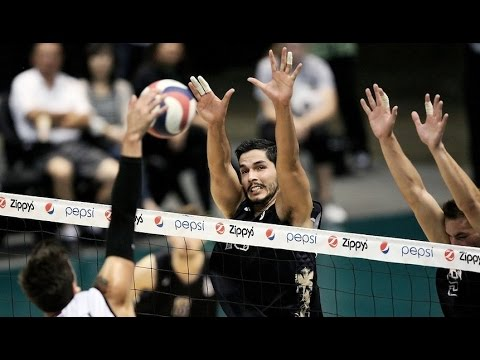 Long Beach Middle Blocker Volleyball Highlights - Taylor Gregory + Amir Lugo-Rodriguez