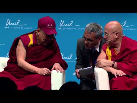 The Dalai Lama talks about aging at the University of Lausanne - Part 1 [VO]