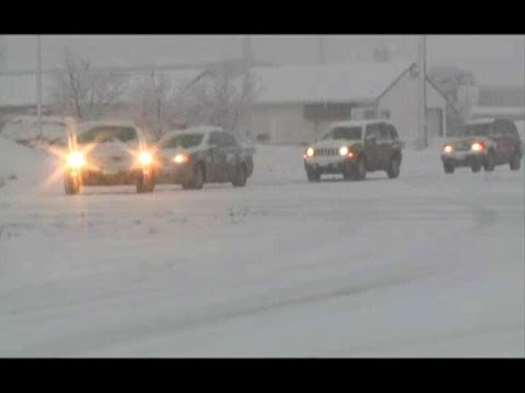 USA WEATHER (Severe storm batters US with winds, snow and hail)