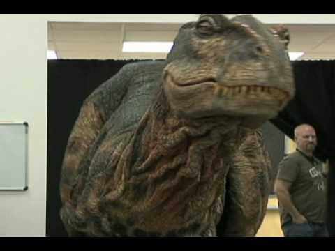 Baby T-Rex at Henderson International School