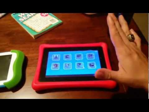 Nabi 2 Vs Sprout Cubby Kids Tablet Cracked Screen Bad Build! MTR