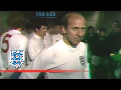 Sir Bobby Charlton's 100th England cap v N.Ireland (1970) | From The Archive