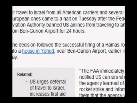 Breaking New FAA bans flights to Israel on US airlines.