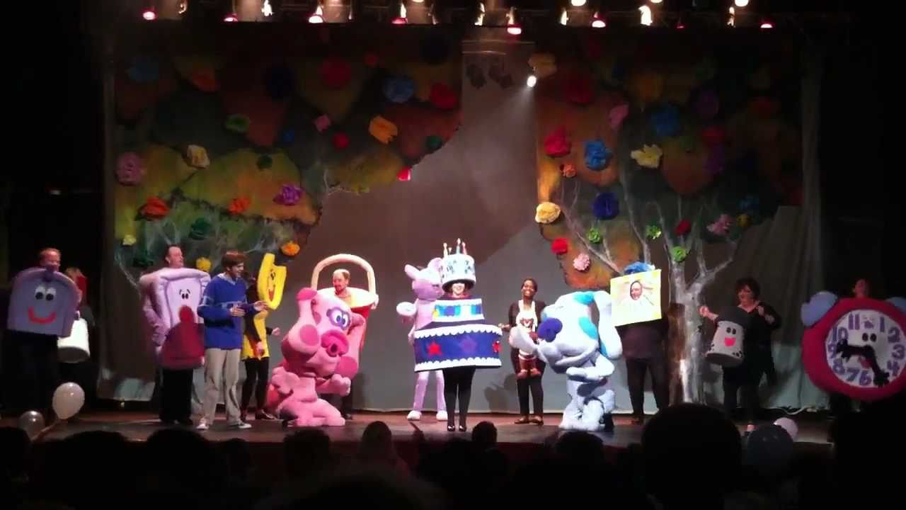 happy birthday blue blues clues live sherman theater