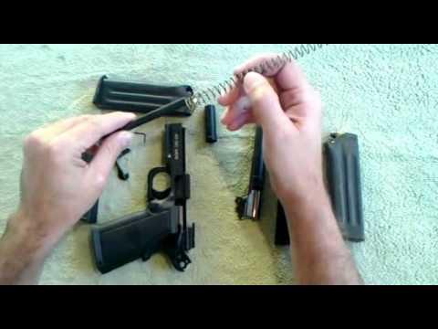 Desmontagem de campo da Pistola Imbel .40 GC MD6