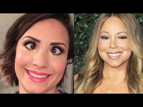 Demi Lovato QUITS TWITTER After Mariah Carey Fight | What's Trending Now