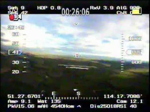 Long Range FPV - 25km. flown with Rmilec UHF LRS