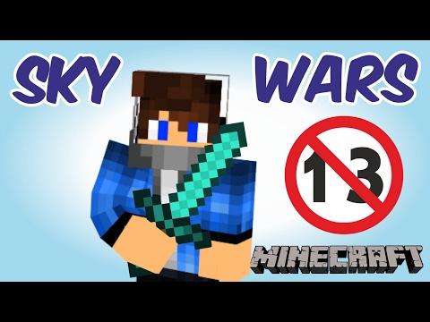 13 УБИЙСТВ В ОДНОЙ ИГРЕ + САМЫЙ УДОБНЫЙ РП [Hypixel Sky Wars Minecraft Mini-Game]