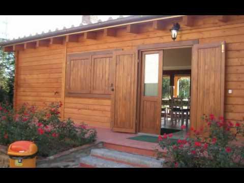Casas de madera casas prefabricadas caba as chalets for Casa y jardin tienda madrid