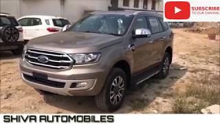 Ford Endeavour/Everest 3.2 Titanium+ 4WD 2019 |SHIVA AUTOMOBILES|
