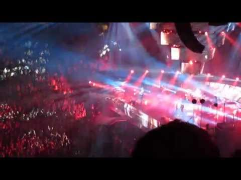 Muse @ Centre Bell, Montreal, April 23 2013 / House of the Rising Sun / Time Is Running Out