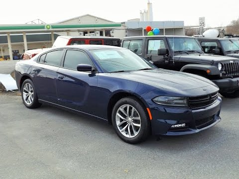 2015 Dodge Charger SXT Plus Start Up. Tour and Review
