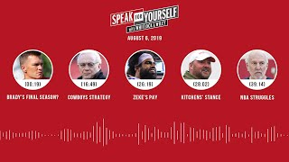 SPEAK FOR YOURSELF Audio Podcast (8.6.19) with Marcellus Wiley, Jason Whitlock | SPEAK FOR YOURSELF