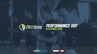 Fit In Time X Ironman Performance Day