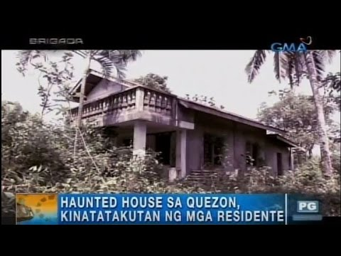 Paranormal expert enters popular haunted house in Quezon | Unang Hirit