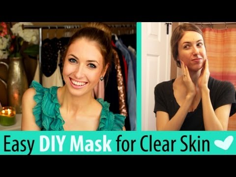 Easy DIY Face Mask for GLOWING Skin (& Fades Acne Scars!)