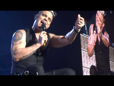Robbie Williams - Rock DJ - 25-4-15 Abu Dhabi HD FRONT ROW