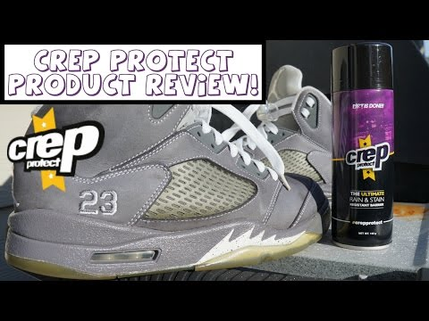 Crep Protect Product Review! How To Protect Your Sneakers!
