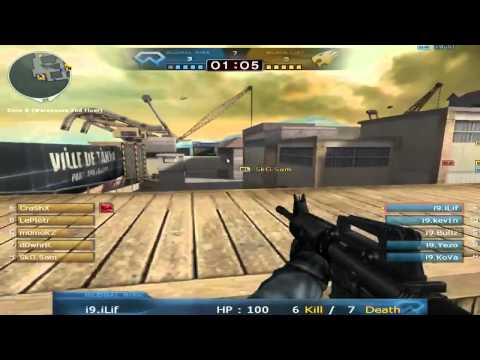 Crossfire: CF Stars EU Qualifier Finals - IceNine vs orKs on Port (CF Stars Season 2 EU Game 1)