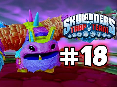 SKYLANDERS TRAP TEAM GAMEPLAY WALKTHROUGH - PART 18 -  PAINYATTA!