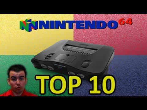 TOP 10 Nintendo 64 (Mejores Juegos)    TOP 10 Nintendo 64 Best Games    En español HD