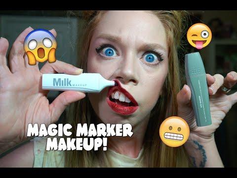 MAGIC MARKER MAKEUP!